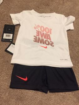 NWT Infant /Toddler Nike 2 Piece Set -Size 12 Months