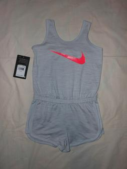 NWT Nike Baby Girls romper outfit, Size 12M