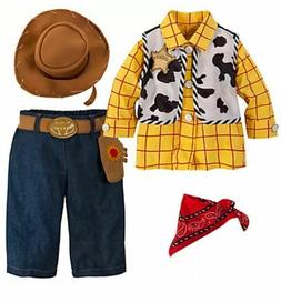 NWT  DISNEY STORE Sz 6/12 12/18 18/24 Months TOY STORY WOODY