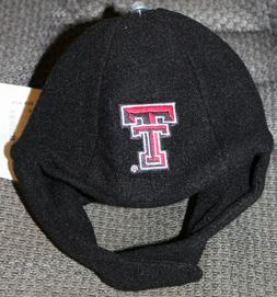 NWT Texas Tech Infant Toddler Chin Strap Beanie 6-12 months
