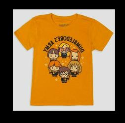 Officially Licensed Harry Potter Toddler Boys T Shirt Yellow