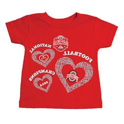Ohio State Buckeyes 2015 College Football Champions Infant T