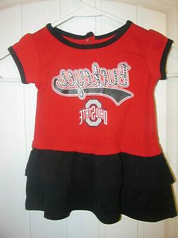 Ohio State Buckeyes Cheerleader outfit - Infant 12 months