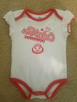 Ohio State Buckeyes Infant 9-12 month Creeper. FREE SHIPPING