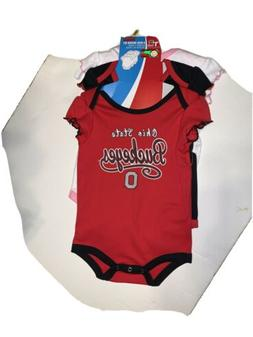 Ohio State Buckeyes Infant Girls Outfits 9-12 Months NWT