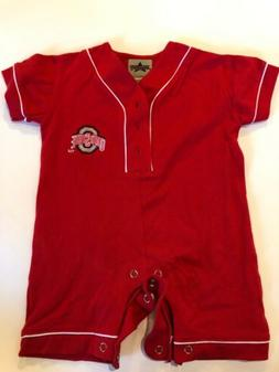 Ohio State Buckeyes ONE piece 12 Months Red