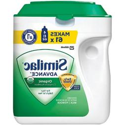 Similac Organic Earlyshield Baby Formula 3-pack;34 Oz.each