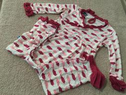 KICKEE PANTS Pigs Bamboo One Piece Sleeper. Size 12-18 Month