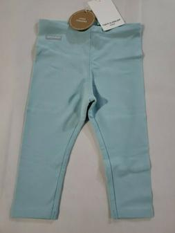 Polarn O. Pyret Girls Leggings ~9-12 Months~NWT~Teal colored