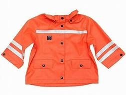 Polarn O. Pyret NEW Orange Silver Size 12-24 Months Snap But