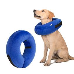 Aopuwoner Protective Inflatable Collar for Dogs Cats,Comfort