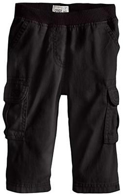 The Children's Place Baby Boys' Pull-on Cargo Pant, Black, 1