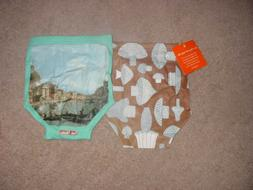 RETRO PANTLETS TWISTED TWEE GIRLS PANTIES 12-24 MONTHS AND 1