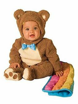 Rubie's Infant Noah Ark Collection Oatmeal Bear Jumpsuit Cos