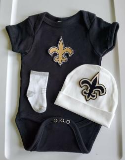 Saints baby/infant clothes Saints baby shower gift Saints ne
