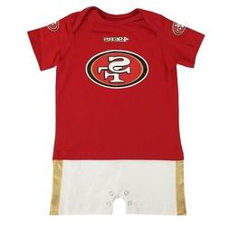 San Francisco 49ers NFL Outerstuff Infant Red Fan Jersey Rom