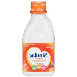 Similac Sensitive Non-GMO Baby Formula Liquid Ready to Feed.