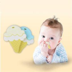 Silicone Teether Toy 3-12 Months Baby Teether Molar Stick Cr