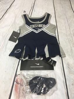 Nike Size 12 Month Baby Girl Cheerleading Outfit Penn State