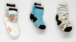Robeez Size 6-12 Months 3-Pack Baby / Toddler Multi-Color So