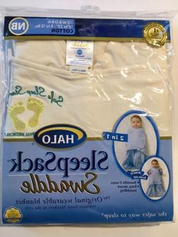 Halo Sleep Sack Swaddle Small Newborn Nb To 3 Months New In