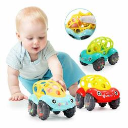Soft Rattle Car 6-12 Months Baby 0-1-3 Hand Grasping Ball To