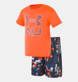 Under Armour Stacked Set 12M — Infant Boys' Short Sleeve