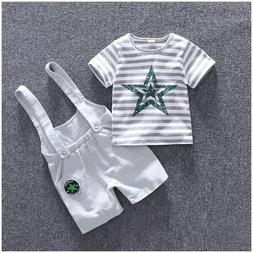 Summer Baby Boy Clothing Set Casual Baby Suits For Boys Stri