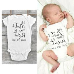 Newborn Baby Boy Girl Unisex Cotton Romper Jumpsuit Bodysuit