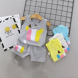 Summer Toddler Infant Clothing Sets Casual Baby Suits For Bo