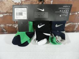 NIKE *Swoosh Socks Set* Size 6-12 Months Baby 6 Pairs NWT~gr