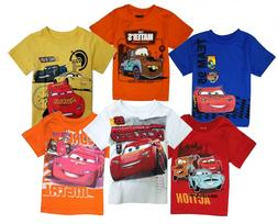 Disney Cars t Shirt Toddler Boys Baby Shirts Cotton Short Sl