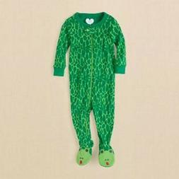 TCP 1PC SNAKE PRINT BOY GIRL FOOTED STRETCHIE SLEEPER PAJAMA
