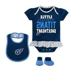 "Tennessee Titans NFL Infant Navy Blue ""Little Sweet"" Creeper"