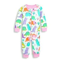 THE CHILDREN'S PLACE 1PC DINOSAUR GIRL FOOTLESS STRETCHIE SL