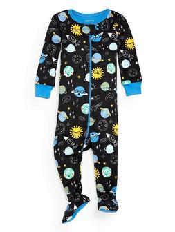 THE CHILDREN'S PLACE 1PC PLANETS BOY GIRL FOOTED STRETCHIE S