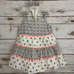 THE CHILDREN'S PLACE Infant Baby Girls Summer Dress Sz 9-1