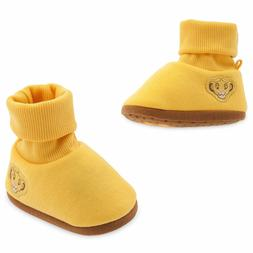 Disney Store The Lion King Simba Baby Costume Shoes Size 0 6