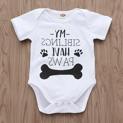 Tiny Cottons Baby Bodysuit Newborn Clothes My Siblings Have