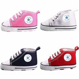 Toddler Baby Boy Girl 9 colors Soft Sole Crib Shoes Infant S