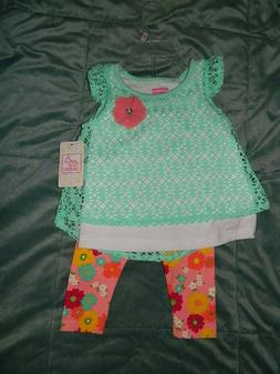 Toddler Baby Girls Swiggles Outfit Set 12 18 Months 2T Green