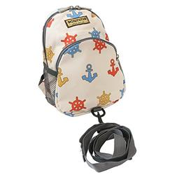 Emmzoe Toddler Backpack with Detachable Safety Harness Leash