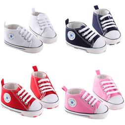 Cute Pink Infant Girls Sneakers Shoes Booties Boots Walking