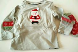 Elegant Baby Unisex 12 months Christmas Holiday Top Baby Gif
