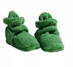 Zutano Unisex-Baby Cozie Fleece Bootie 12 Month  Apple Green