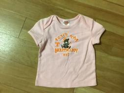 """University of Tennessee  """"My First Volunteers Tee  size 12 m"""