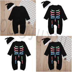 US Kids Baby Boys Fashion Suit For Hallowmas Romper Jumpsuit