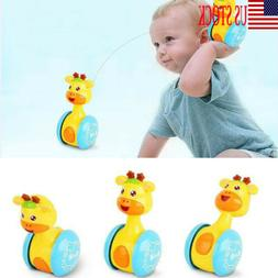 USA Baby Rattles Tumbler Doll Toys Bell Music Education Toys
