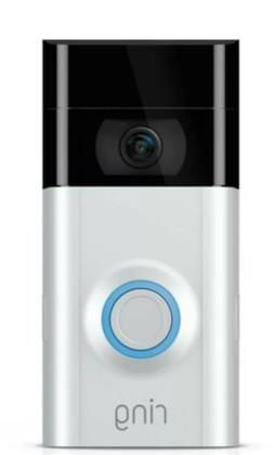 RING Video Doorbell 2 with 12 Months Ring Protect Plus