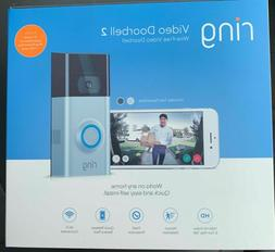 Ring Video Doorbell 2 with 12 Months Ring Protect Plus $100